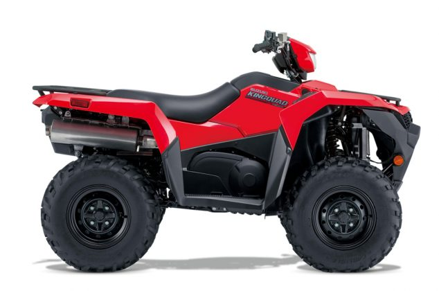 KINGQUAD 750AXI 4×4 POWER STEERING