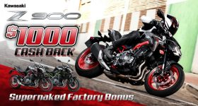 Z900 SAVE $1000 ! Now $12,818 Ride Away.