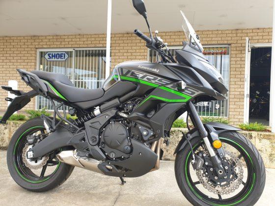 2020 Kawasaki Versys 650L LAMS DEMO – $10,990 Ride Away